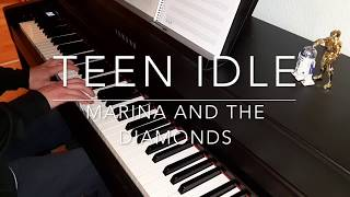 Teen Idle - Marina and the Diamonds - Piano Cover - BODO
