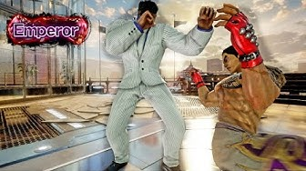 Talented Kazuya Makes Me Work for Emperor | TEKKEN 7