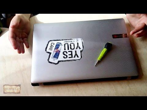 Разборка ноутбука Packard Bell EasyNote TM86-JN-302RU. Как разобрать ноутбук