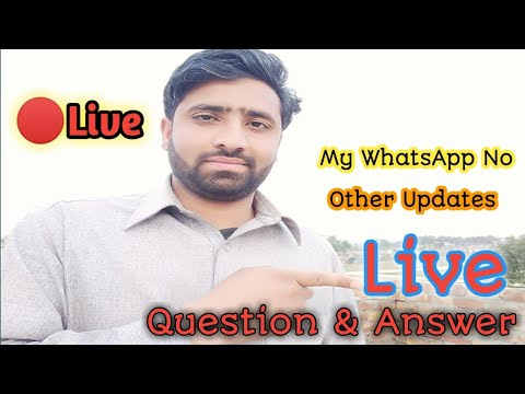 🔴 Live Question Answer