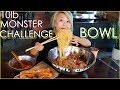 10lb MONSTER BOWL CHALLENGE!!! at RiceStrings in Cerritos, CA #RainaisCrazy