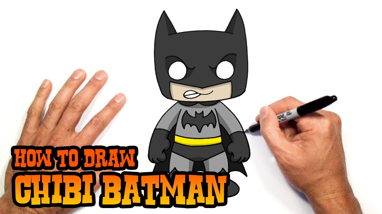 How to Draw Batman | Justice League - YouTube
