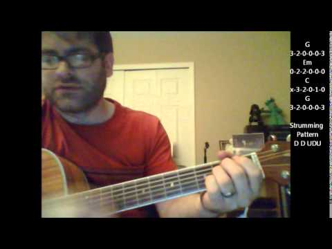 How To Play Viva Las Vegas By Elvis On Acoustic Guitar Youtube