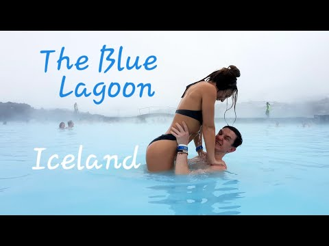The Blue Lagoon Iceland Winter 2019, Reykjavik Natural  Geothermal Spa, Swim up bar, and Mud Packs