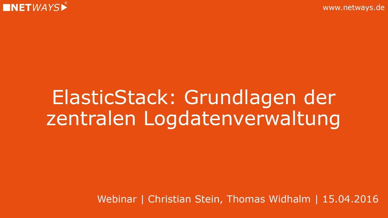 Elastic | NETWAYS GmbH