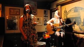 "Holly Vermillion Maclarin and Katheen Cook with cover song "" When That Storm Comes "" 06 11 2014"