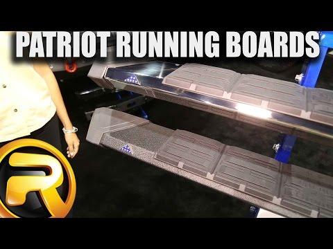 Iron Cross Patriot Running Boards