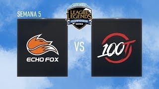 ECHO FOX VS 100 THIEVES - LCS NA - SPRING SPLIT 2018 - #LCSNALVP5