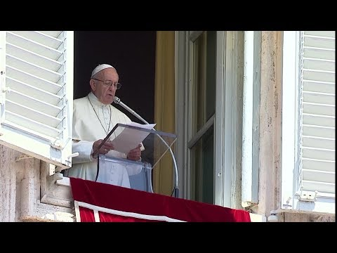 In Angelus, pope prays for Nicaragua: that violence may cease and dialogue resume