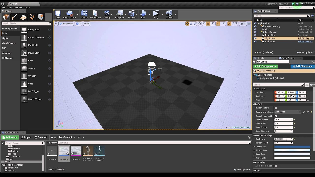 Hairworks in 3ds max for Unreal engine 4 - Unreal Engine Forums