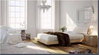 غرف نوم خشب ابيض White wood bedrooms