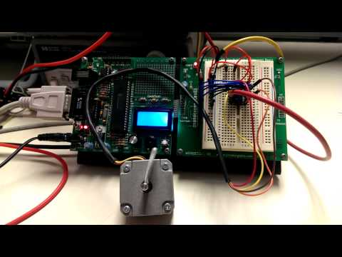 One-Phase/Wave Drive Bipolar Stepper Motor Control