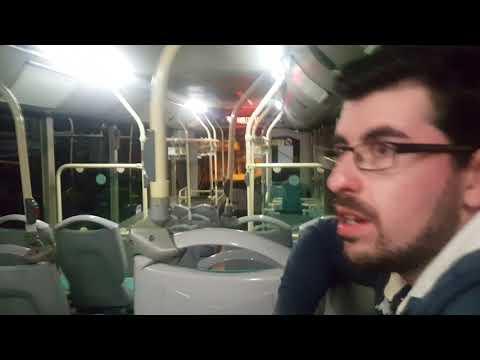 (HD) Onboard Malta Public Transport King Long XMQ6127 BUS158 25/02/2018