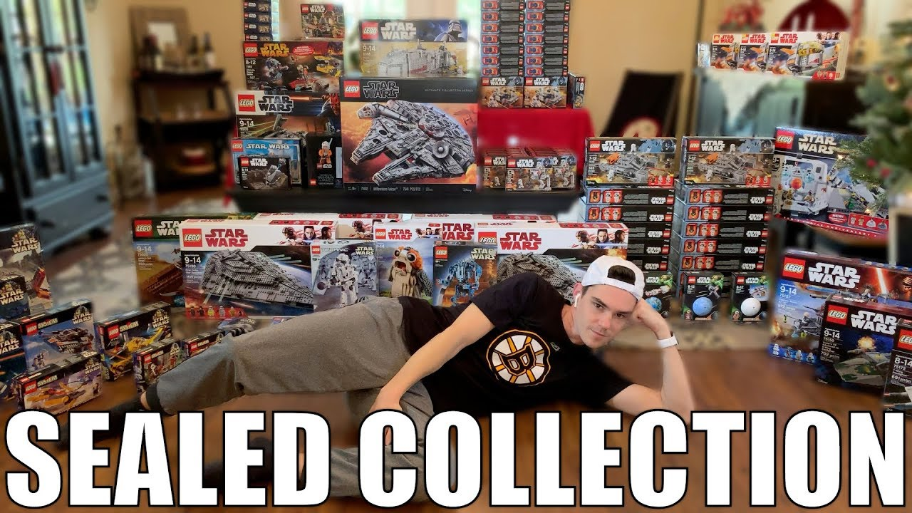 My SEALED LEGO Star Wars Collection! (2019)