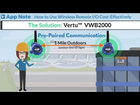 How to Use Wireless Remote I/O Cost-Effectively | Acromag Video App Note