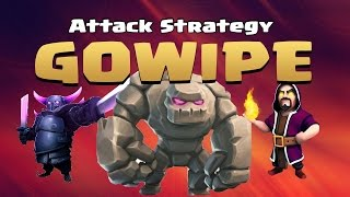 Ultimate GoWiPe Attack Strategy | Town Hall 8 | Clash of Clans | Clash Replay ▶