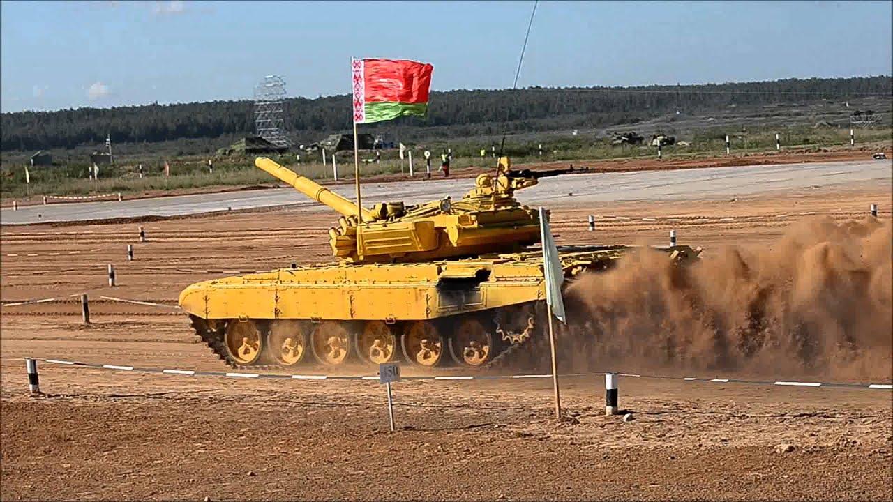 На полигоне Алабино прошёл финал танкового - RT