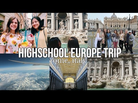 HIGHSCHOOL EUROPE TRIP | part 1| maiphammy