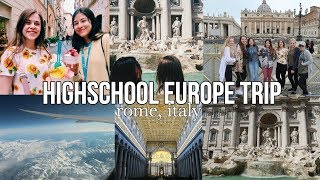 HIGHSCHOOL EUROPE TRIP vlog | part 1/4 | maiphammy