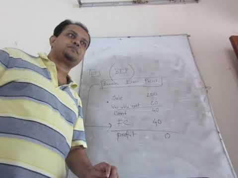 ACCA SCHOOL F2 and CIMA/BA2 (CVP analysis) part 1