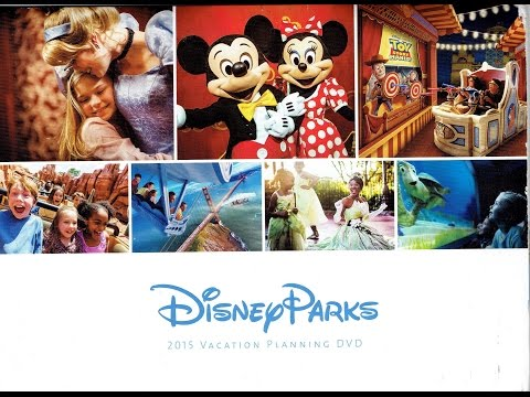 2015 Walt Disney World Vacation Planning DVD - InteractiveWDW