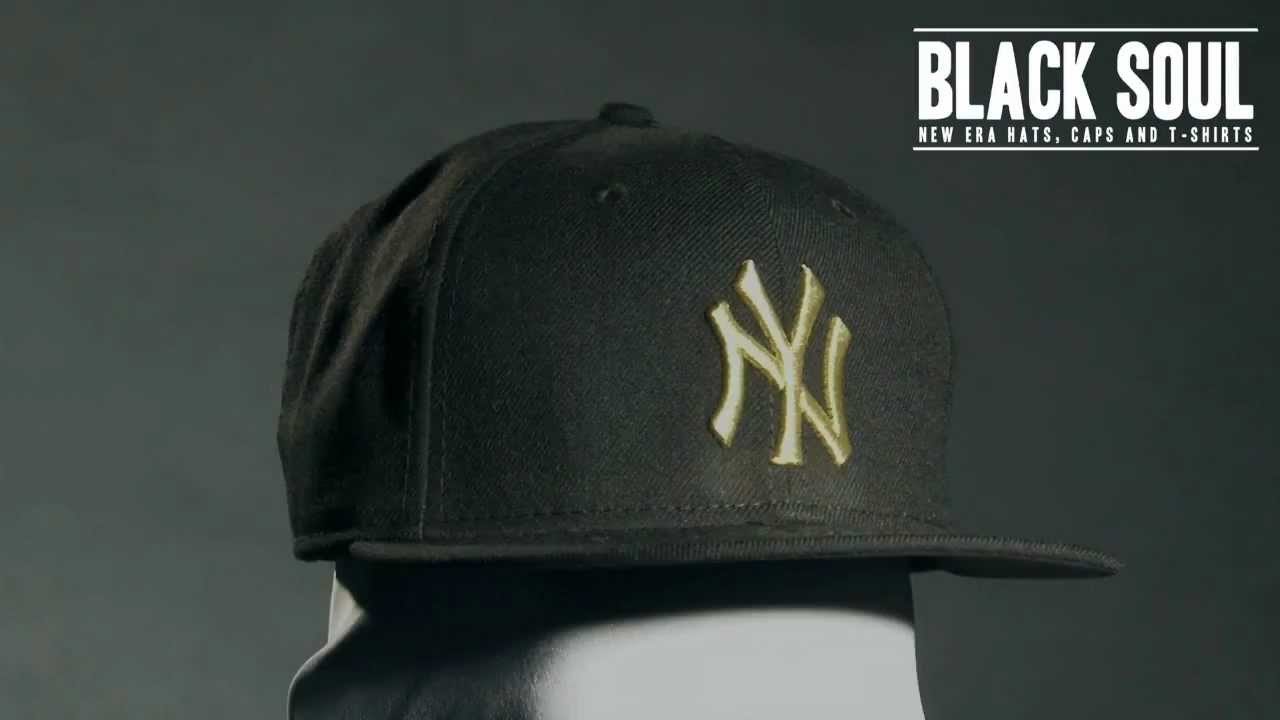 Boné New Era 5950 59Fifty aba reta New York Yankees