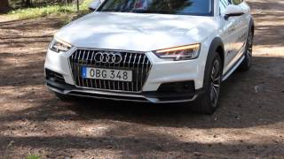 All new 2017  Audi A4 Allroad quattro| launch,on gravel, interior, dynamic turning signals etc