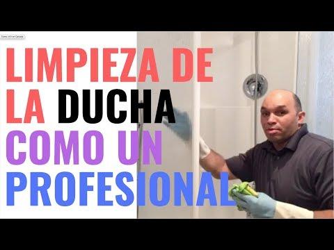 Servicio Domestico y  House cleaning services, Limpiar el baño VIDEO #2
