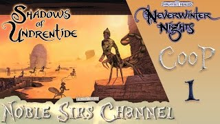 видео neverwinter nights shadows of undrentide прохождение