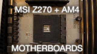 MSI G.U.S. External Graphics dock, AM4 motherboards + more!