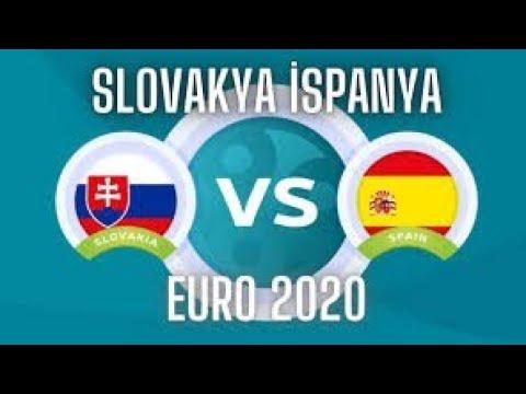 İSPANYA 5-0 SLOVAKYA MAÇ ÖZETİ