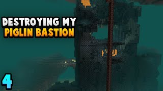 Mining An Entire Bastion (Nether Recycling #4)