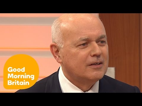 Iain Duncan Smith On What It's Like To Face Prime Minister's Questions | Good Morning Britain