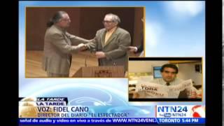 Director del diario El Espectador relata en NTN24 el crecimiento de Gabriel García Márquez