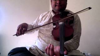 Carnatic Violin - basic notes 1