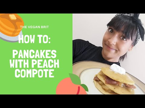 how-to:-vegan-pancakes-with-peach-compote-(feat.-this.co-'bacon')