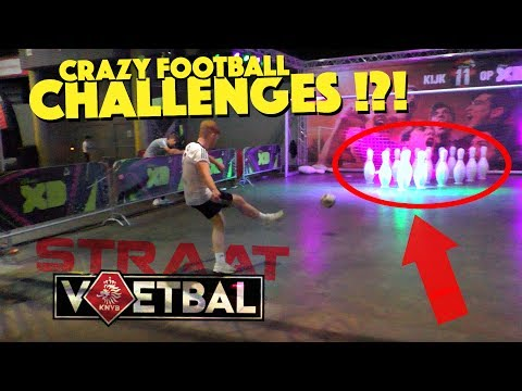 Crazy Football Challenges!!! | KNVB Straatvoetbal EVENT in NETHERLANDS!