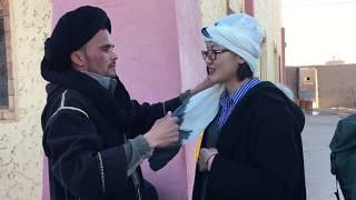 #Fas #Berberi Türbanı Nasıl Bağlanır? - How to Tie Moroccan Turban? #Merzouga, #Morocco