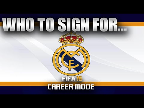 FIFA 16 | Who To Sign For... REAL MADRID CAREER MODE