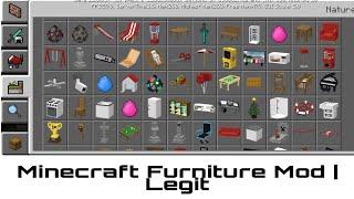 Minecraft Furniture Mod Version 1.16.0.57 | Legit