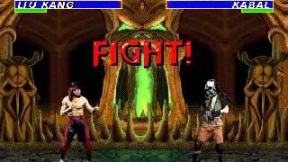 Ultimate Mortal Kombat 3 - Liu Kang (Sega Genesis) (By Sting)