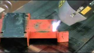 Laser De-Coating Steel: 120 Watt vs 1000 Watt Hand-Held Lasers