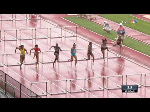 Thumbnail: Olympic Track And Field Trials | Dawn Harper-Nelson Misses Finals By .01 Seconds