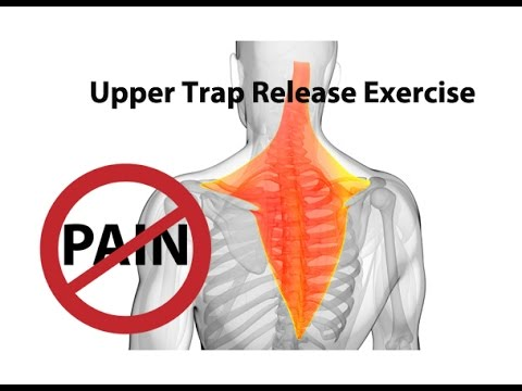 Upper Trap Release Exercise For Instant Neck Pain Relief