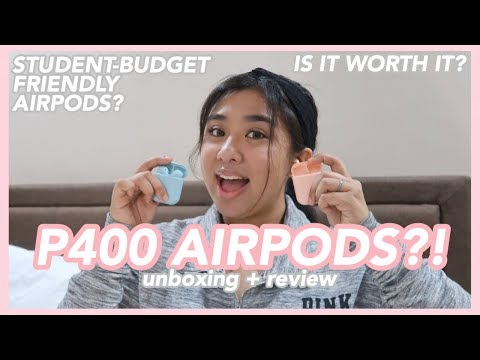 P400 AIRPODS?! | UNBOXING + REVIEW | Hey It's Ely!