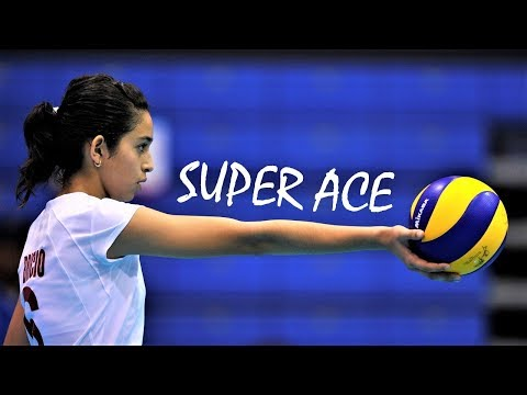 Top 10 Fantastic Volleyball ACES by Samantha Bricio (Samy) | Powerful Server