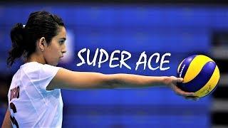 Top 10 Fantastic Volleyball ACES by Samantha Bricio (Samy) | Powerful Server