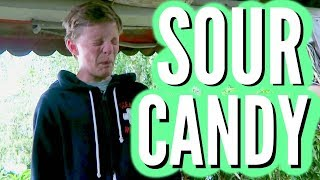TRYING Super SOUR Lemon CANDY!! + Giveaway Winner