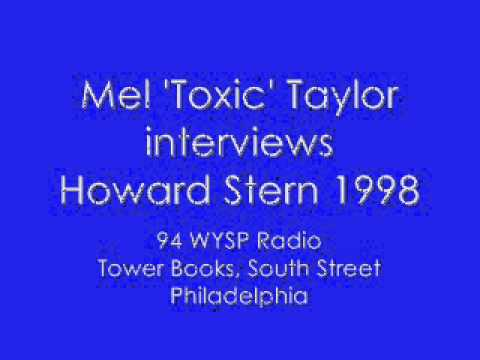 Howard Stern Interview. Mel Toxic Taylor WYSP 1998