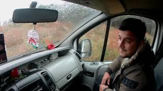 Araba Sürme Yağmurlu Hava -Orman Yolunda Uygunsuz Hareket Eden ŞARAPÇI DAYI-